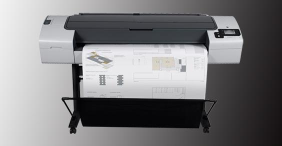 惠普HP Designjet T790 44英寸绘图仪